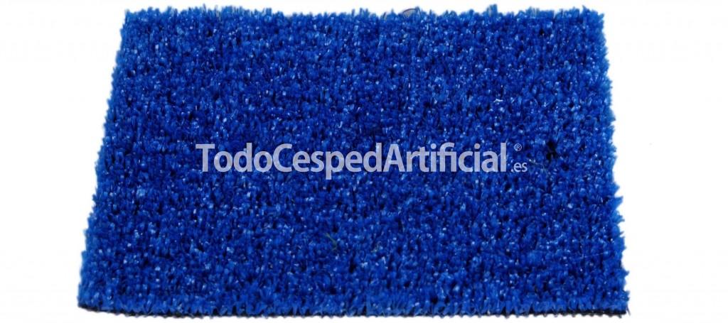 cesped artificial color azul