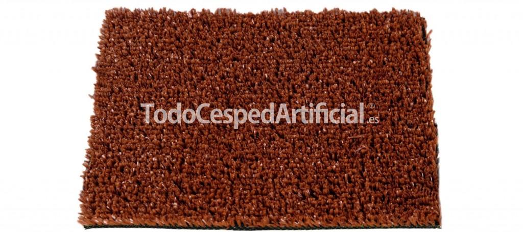 cesped artificial color teja