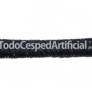 cesped artificail color negro