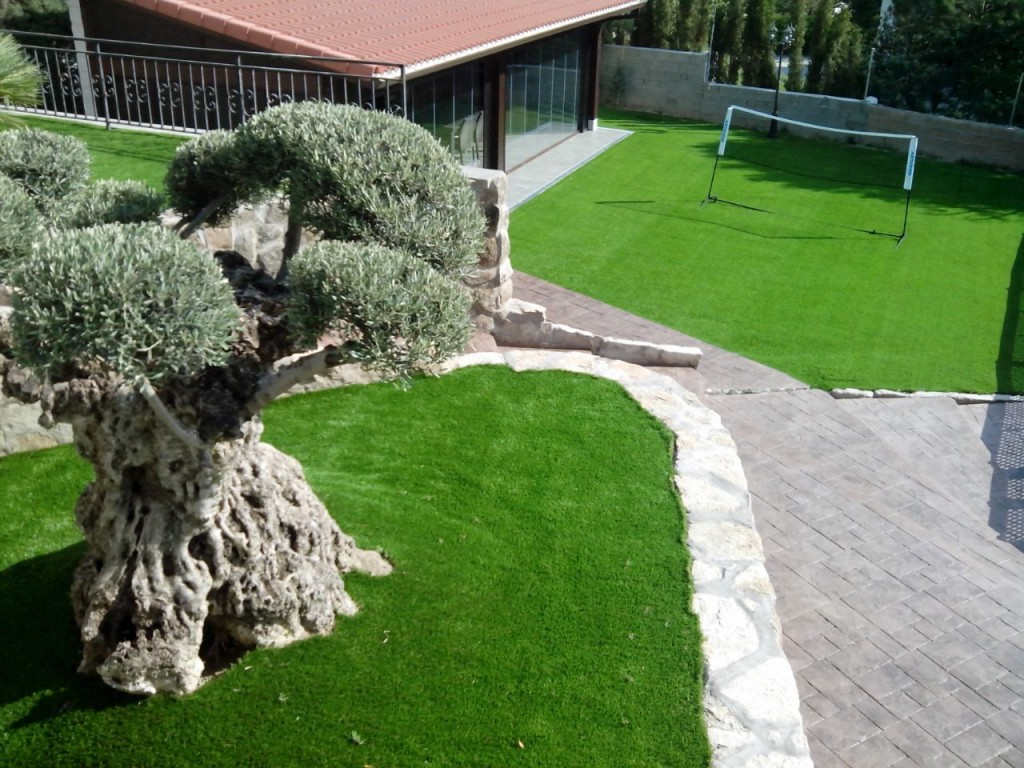 Livinggrass platinum - Jardin cesped artificial ...