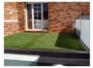 cesped artificial para terrazas