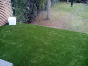 renovar cesped artificial jardin