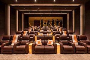 sala de cine mansion lujo bruce makowsky